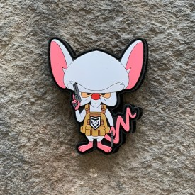2A Pinky and the Brain: Tactical Brain PVC Patch