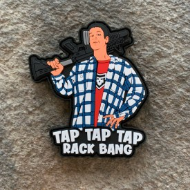 Happy Gilmore: Tap it in PVC Morale Patch