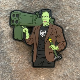 2A Munsters:  Herman Munster PVC Morale Patch
