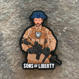 Sons of Liberty PVC Morale Patch