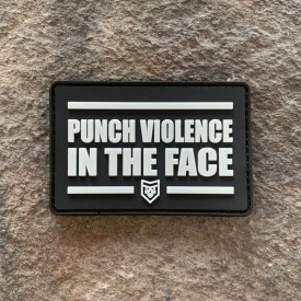 Punch Violence in the Face PVC Morale Patch