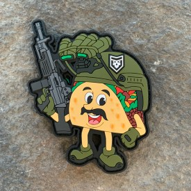 Spicy Taco PVC Morale Patch