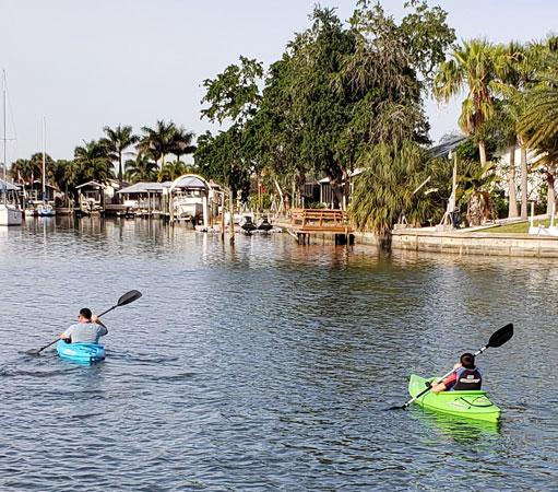 Apollo Beach Canals - Florida