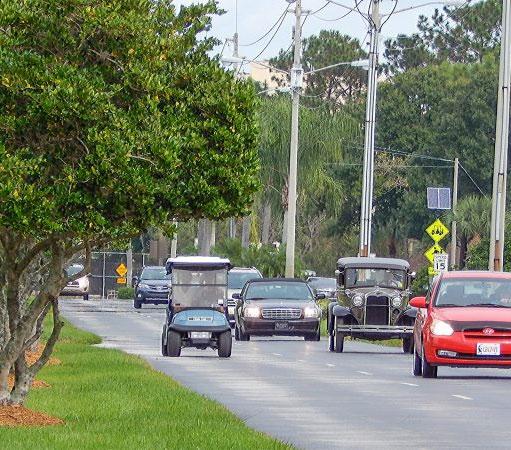 Driving in Sun City Center FL
