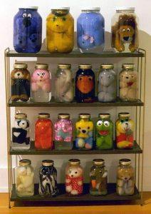 DIY stuffed animal storage project