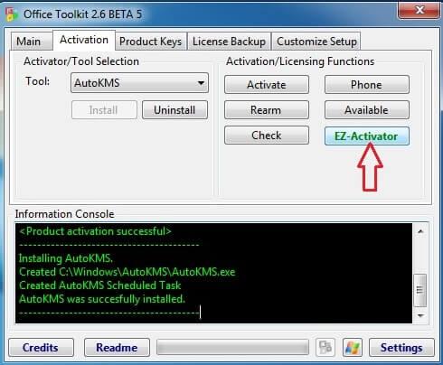 microsoft toolkit activation key