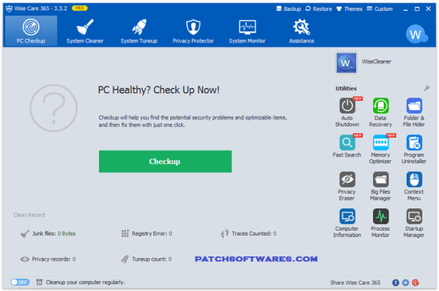Wise Care 365 Pro 4.56.431 Full Version With License Key Free Download2