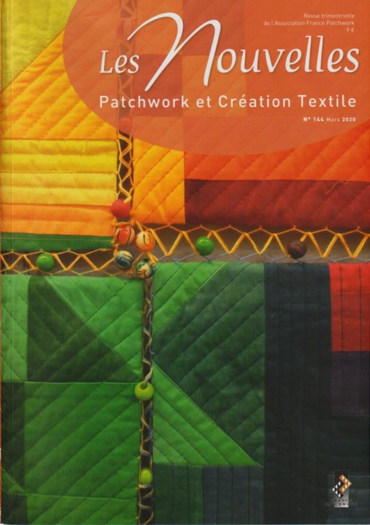 Les Nouvelles, la revue de référence pour les adhérentes de patchwork français
