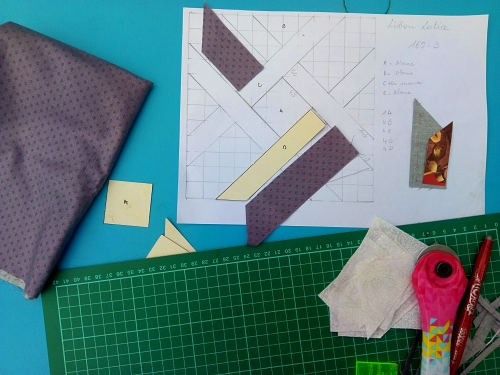 gabarits de patchwork motifs inverses