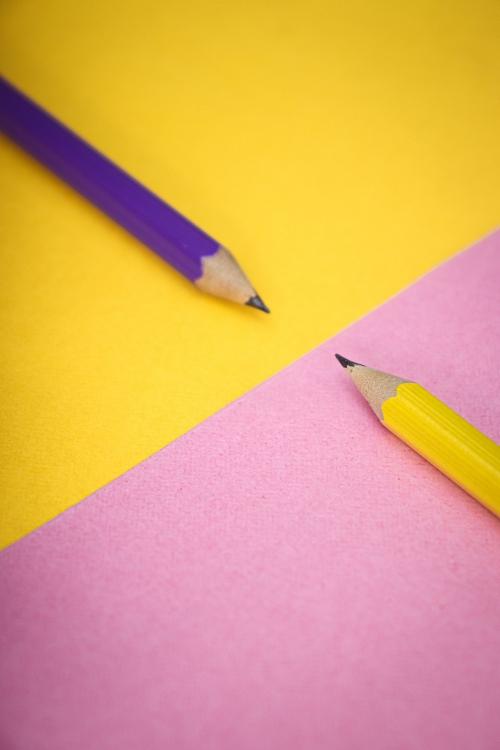 matériel de base en patchwork : un bon crayon graphite pour reporter motifs