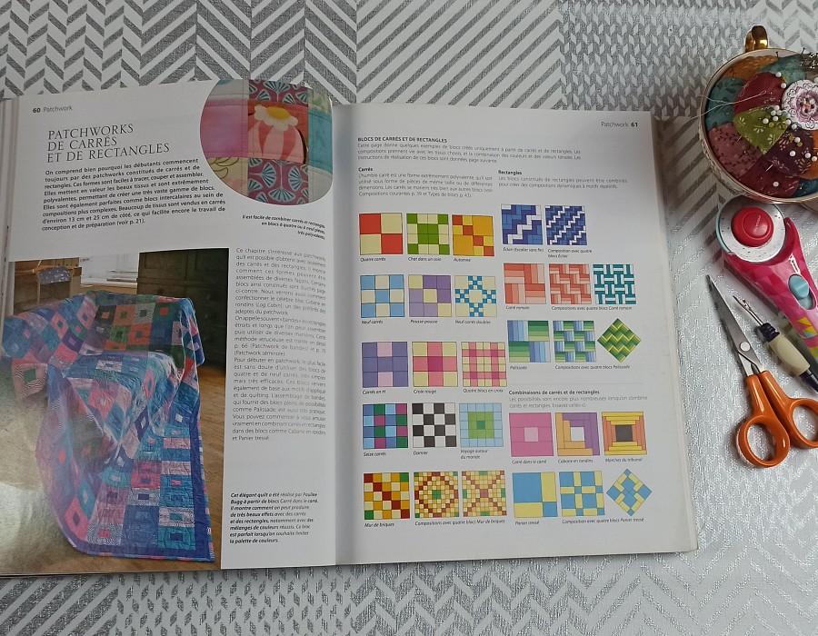 guide du patchwork débutant explications claires et complètes