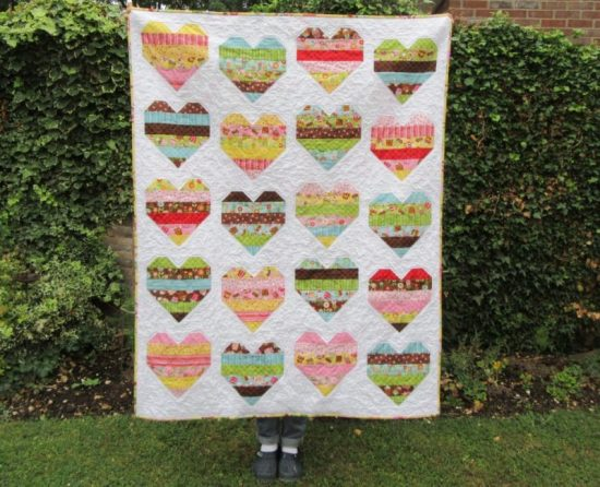 Candy Hearts by New Every Morning Patchwork and Quilting