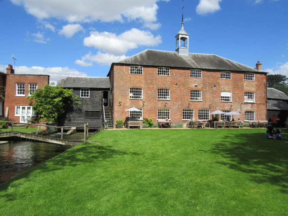 Whitchurch Silk Mill on the River Test