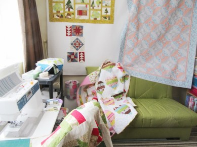 Sewing table during HOS