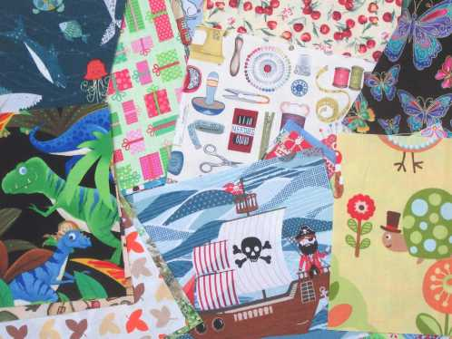 Novelty fabrics by Allison Reid