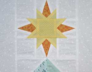 FP Star for Chevron Tree by Allison Reid