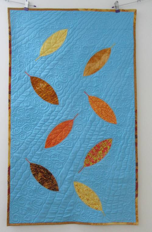 Autumn Leaves Complete by Allison Reid