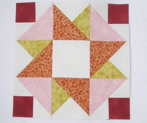 Quilt Club block 6b by Allison Reid