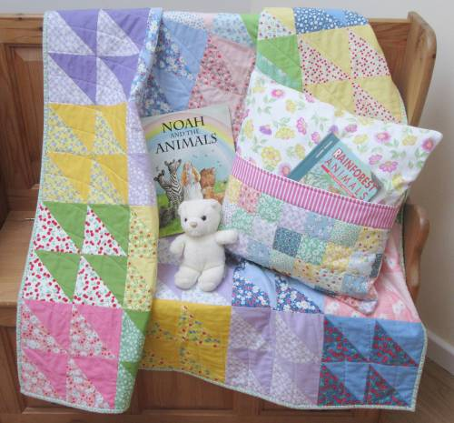 Playtime Book Pillow set (2) by Allison Reid