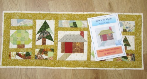 Into the Woods and Cabin Block pattern by Allison Reid