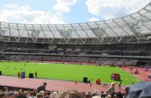 Olympic Stadium, London 2019 by Allison Reid
