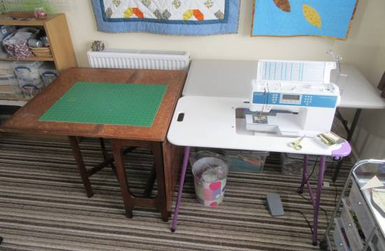 Sewing Room set for cutting and piecing by Allison Reid