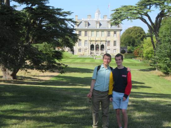 Kingston Lacy, Duncan and Daniel by Allison Reid