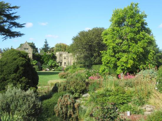 Nymans house from the gardens by Allison Reid