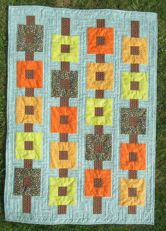 Autumn wallhanging finished (2) by Allison Reid