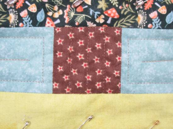Autumn wallhanging quilting (4) by Allison Reid
