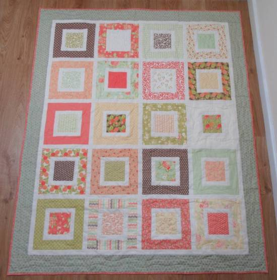 Square in a Square 2 finished front by Allison Reid