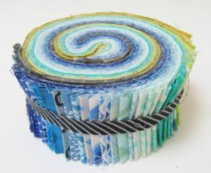 Blue Jelly Roll by Allison Reid
