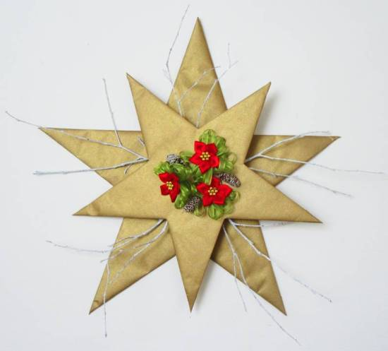 Christmas Star decoration by Allison Reid