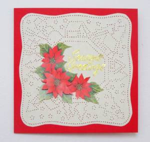 Ornare Christmas card by Allison Reid
