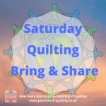 Saturday Quilting Bring & Share logo 2