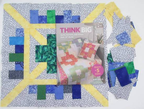 Think Big block and book by Allison Reid