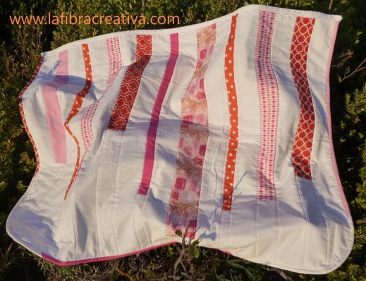 Arrullo de patchwork moderno para niña
