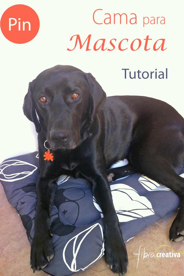 Como hacer una cama para perro patrón gratis