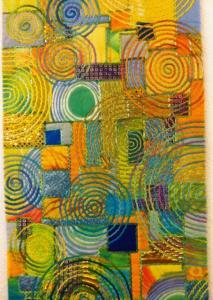 art quilt de carol taylo Arc i textures