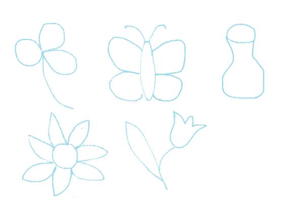 dibujos de acolchado a mano