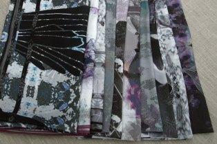 Colección de pañuelos de seda (diseño Claire Barthélémy)