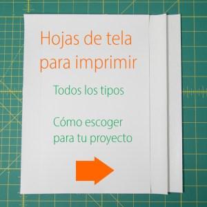 hojas de telas para imprimir todos los tipos