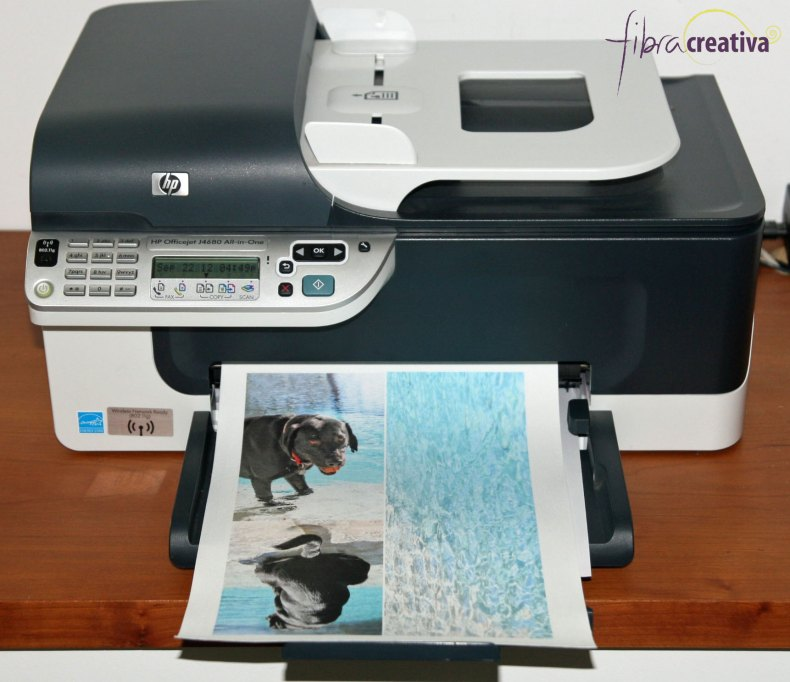 impresión de tela en impresora a chorro de tinta en casa
