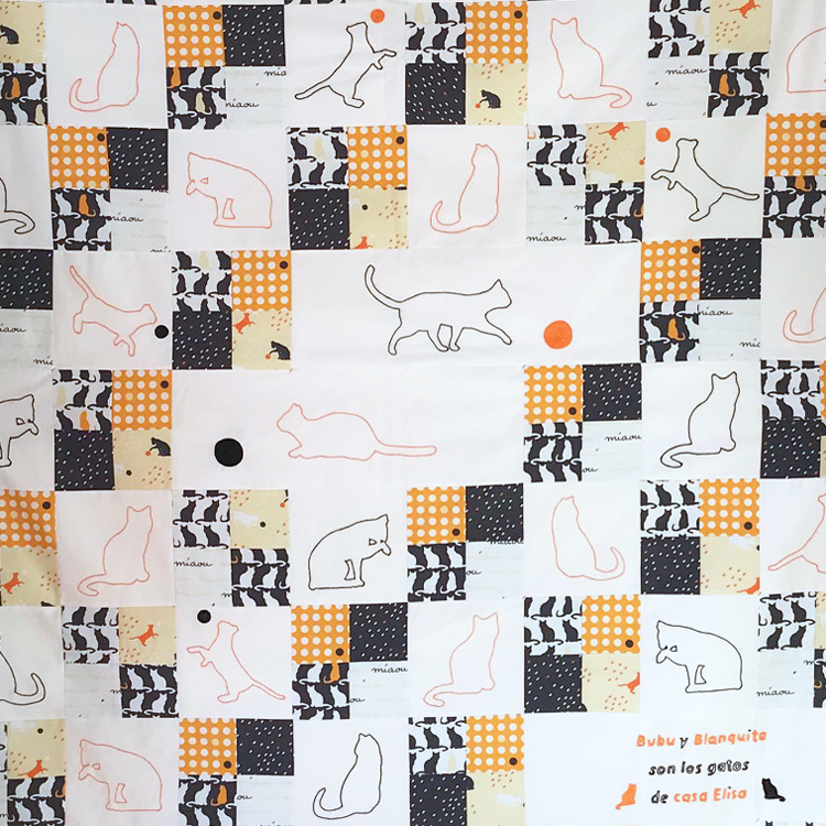 patchwork con gatos 4 patch