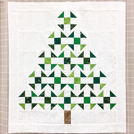 Arbol de Navidad en patchwork