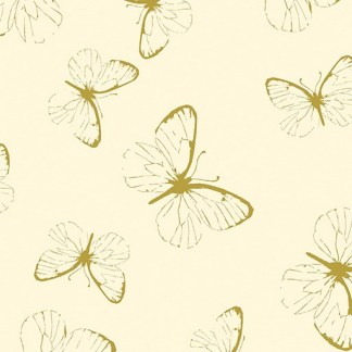 Gilded Butterfly - Cream 8637M-07