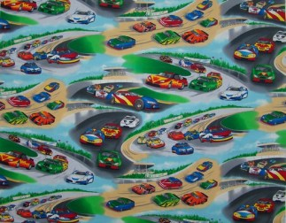 Nascar Play Mat Panel