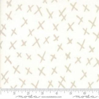 Savannah XMarks - Stone 48224-11 by Moda Fabrics