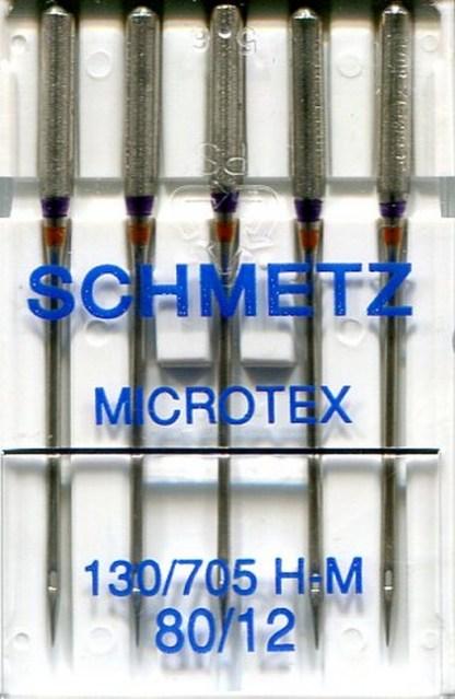 Schmetz Microtex Machine Needles 80 / 12