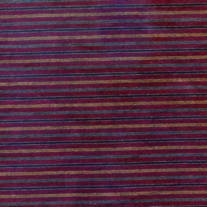 Traditional Japanese Stripe - Cherry Red